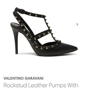 Valentino Shoes - Valentino Rockstud Leather Pumps.